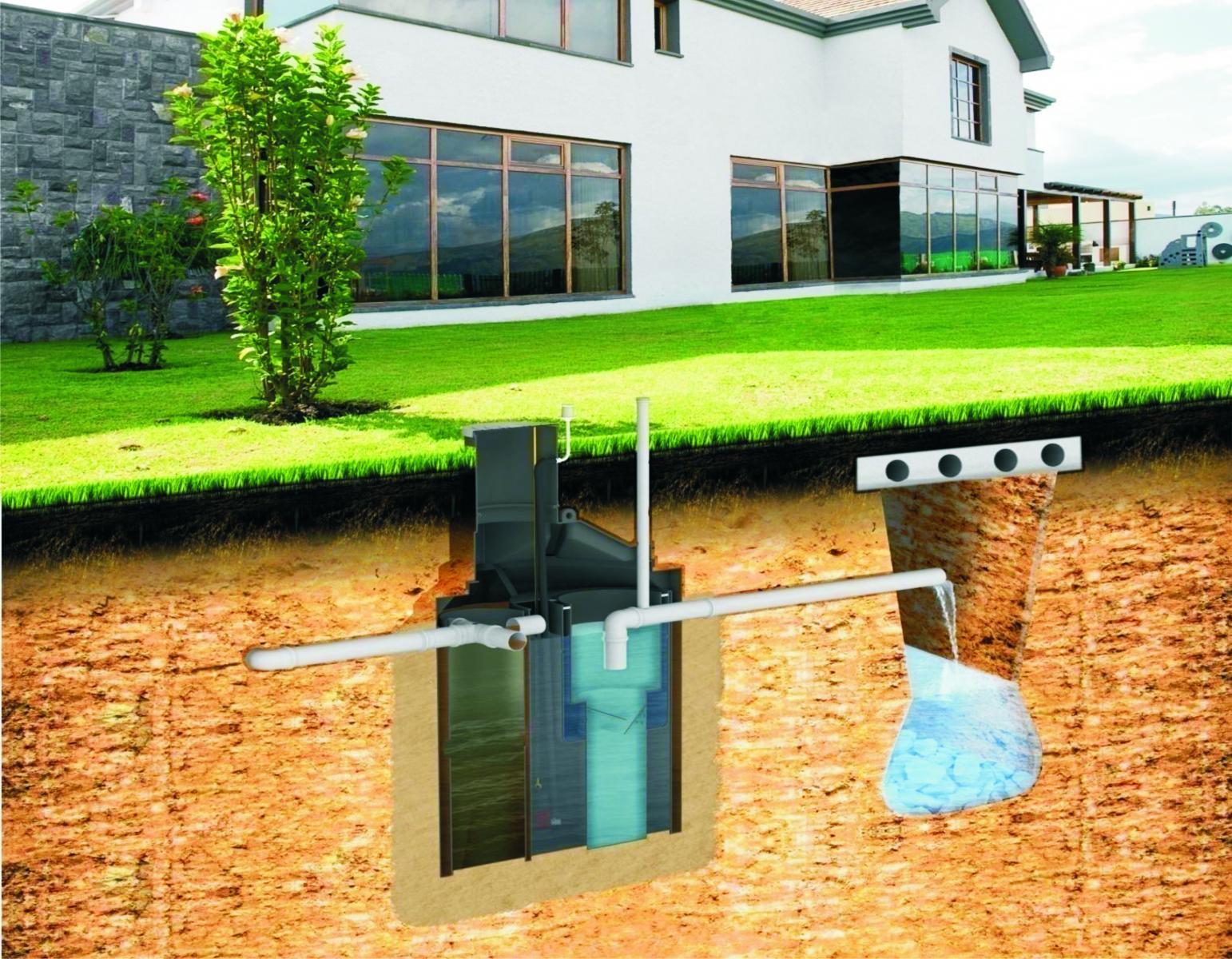 Очистка сточных вод на даче своими руками без сточной ямы 39